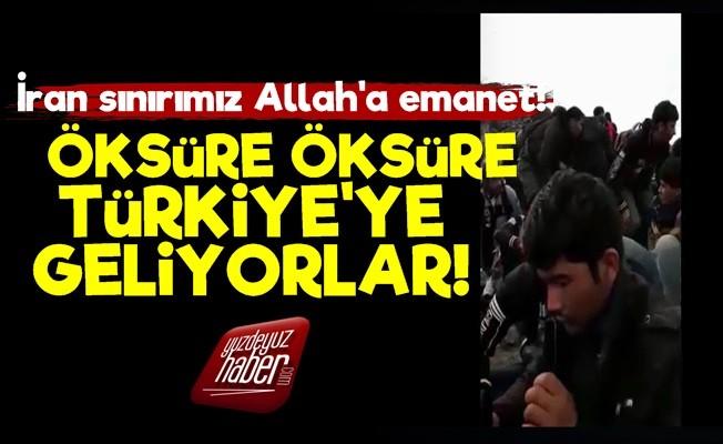 ÖKSÜRE ÖKSÜRE TÜRKİYE'YE GELİYORLAR!